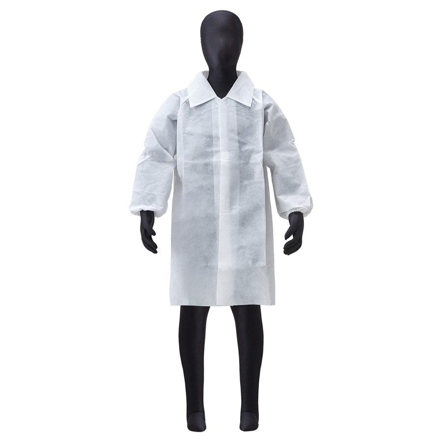 子供用白衣 AZ CLEAN 1303 L (身長140cm)