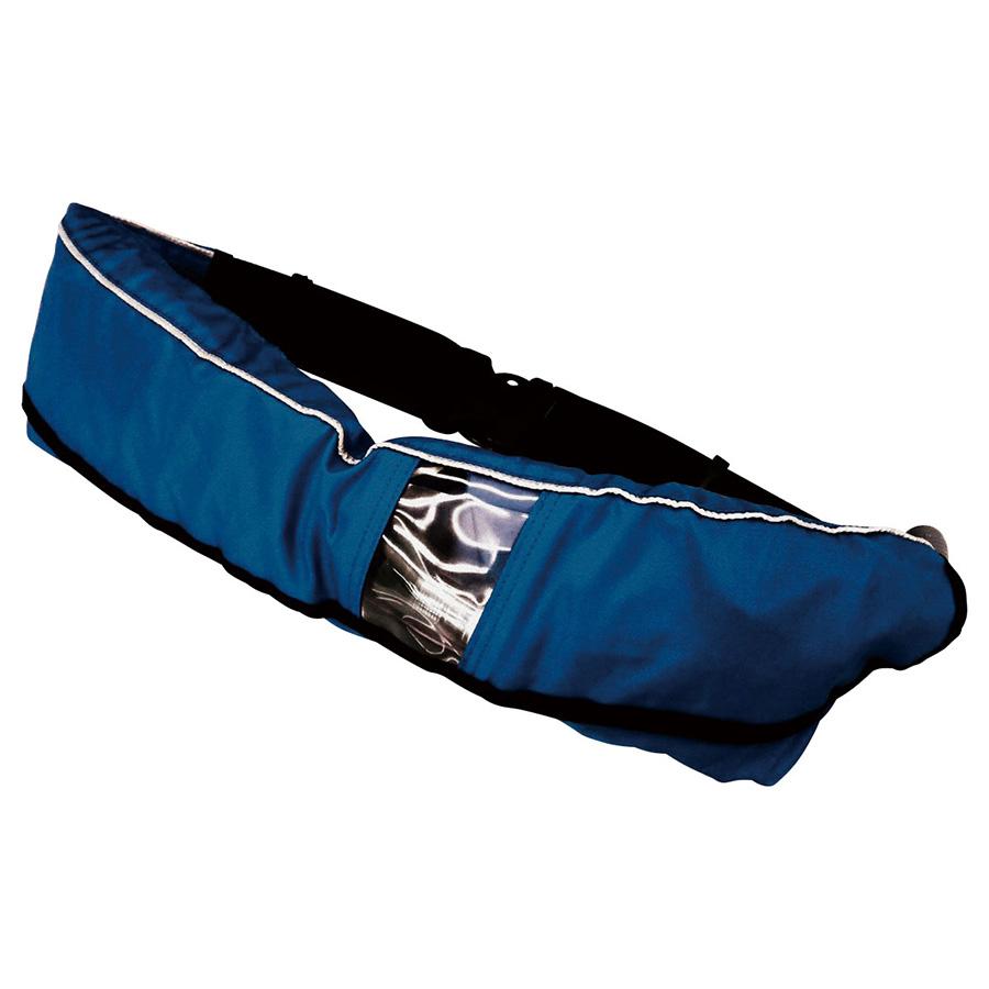 救命胴衣兼用型 自動膨脹式・ウエストポーチタイプ WP−2 紺