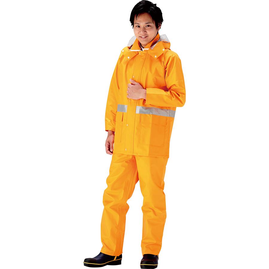 雨衣 8950 ナダレス オレンジ LL