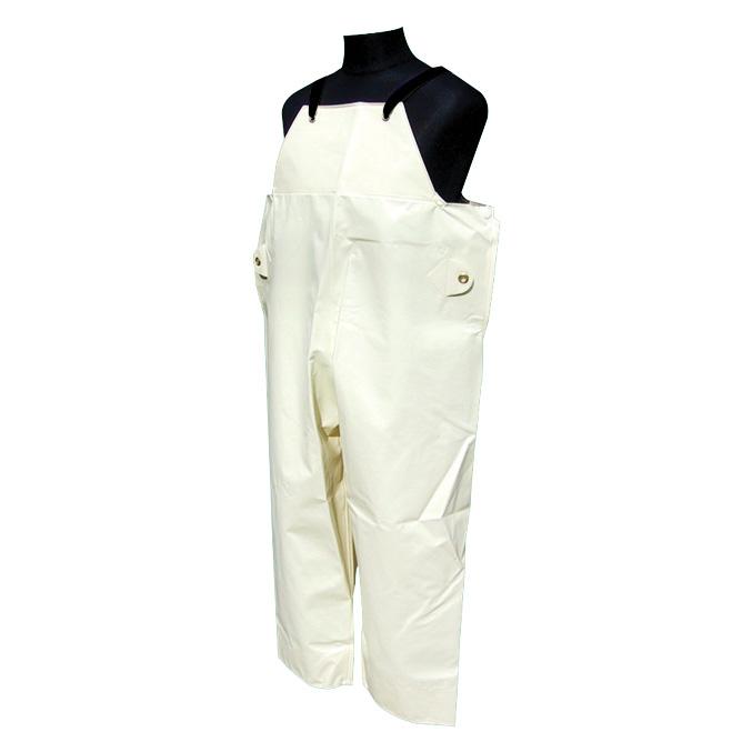 畜産用胸付ズボン U−2000 アイボリー M