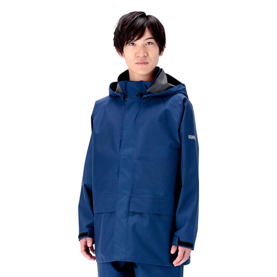 レインベルデN(R) ゴアテックス(R) 帯電防止仕様 上衣 ネイビー L