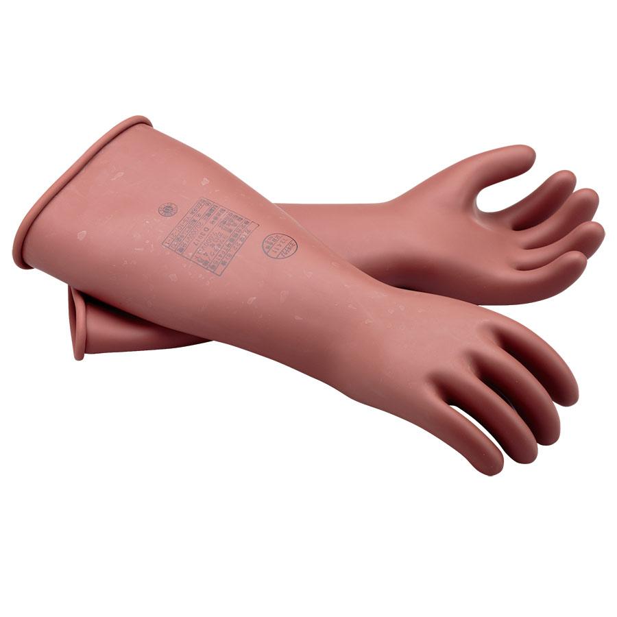 耐電ゴム手袋 高圧用ゴム手袋 大