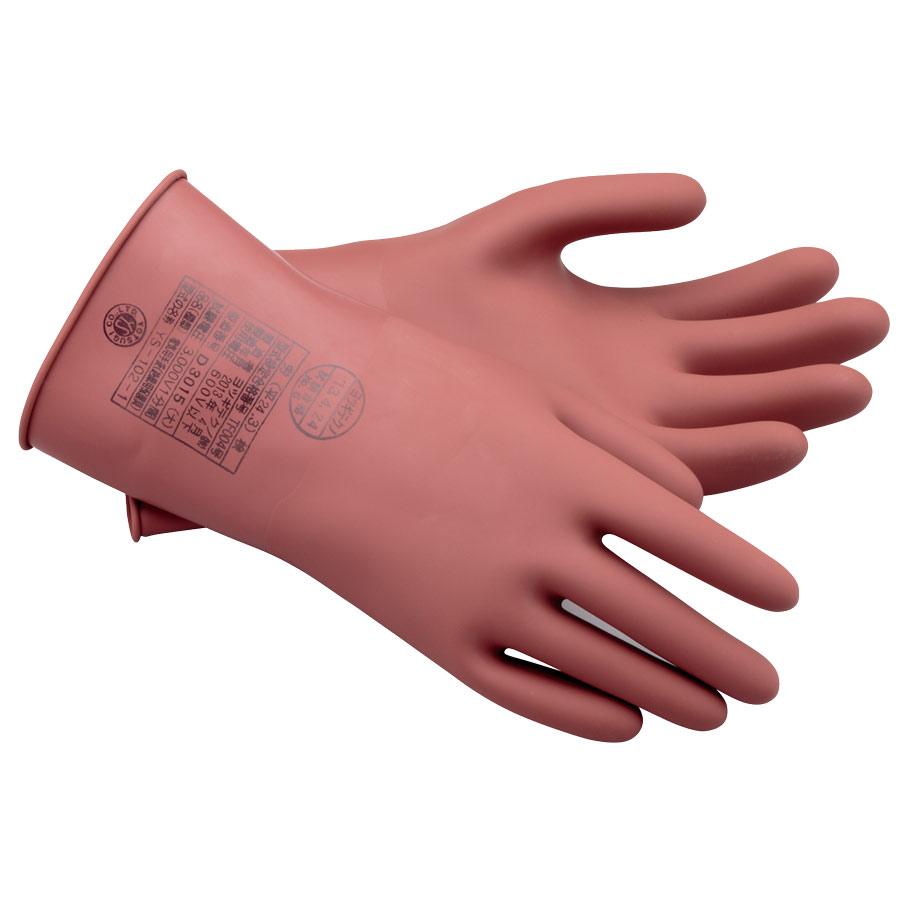 耐電ゴム手袋 低圧用ゴム手袋