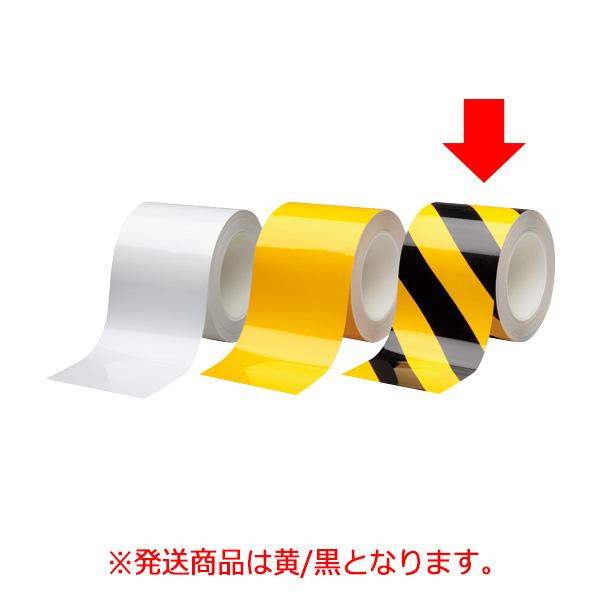 ビバスーパーラインテープ BSLT1002−TR 黄/黒 105217