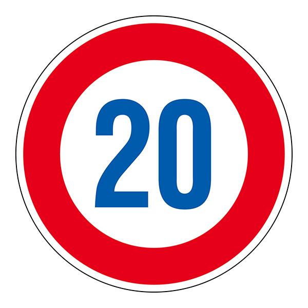 道路標識 道路323−20K(AL)  133673
