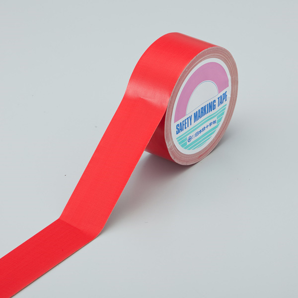 カラーテープ AH−1002 赤 50mm幅×25m×0.26mm 190002