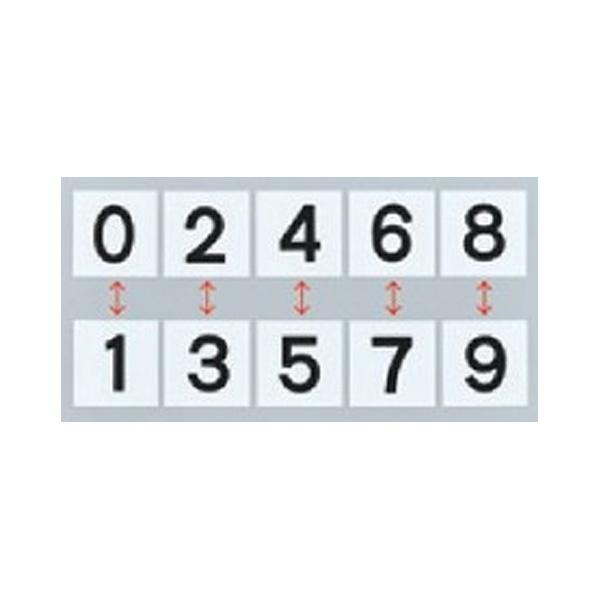 スチールケース KS−C札2 黒 0〜9 228033
