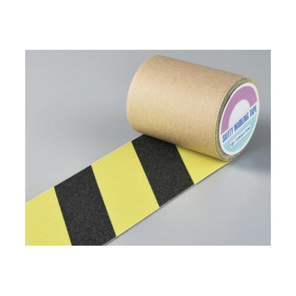 滑り止めテープ SV−100TR 100mm幅×3m 蛍光黄/黒 260107