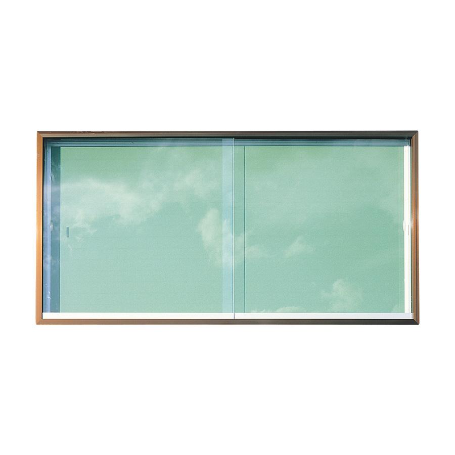 屋外掲示板 AKC−36(壁付型) ブロンズアルミ製 341050