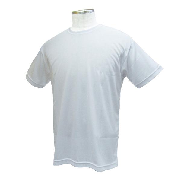 熱中対策 涼感 ワークTシャツ ホワイト M 375238