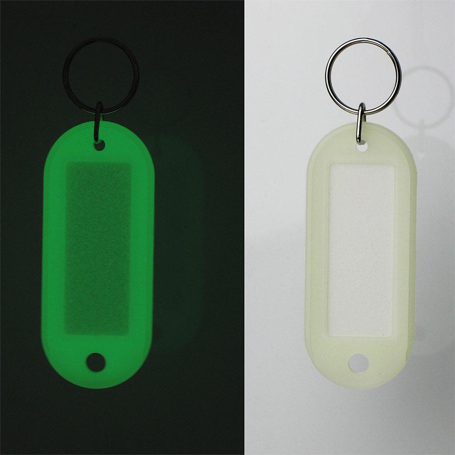 光るキーホルダー(畜光タイプ) 380025 (5個1組)
