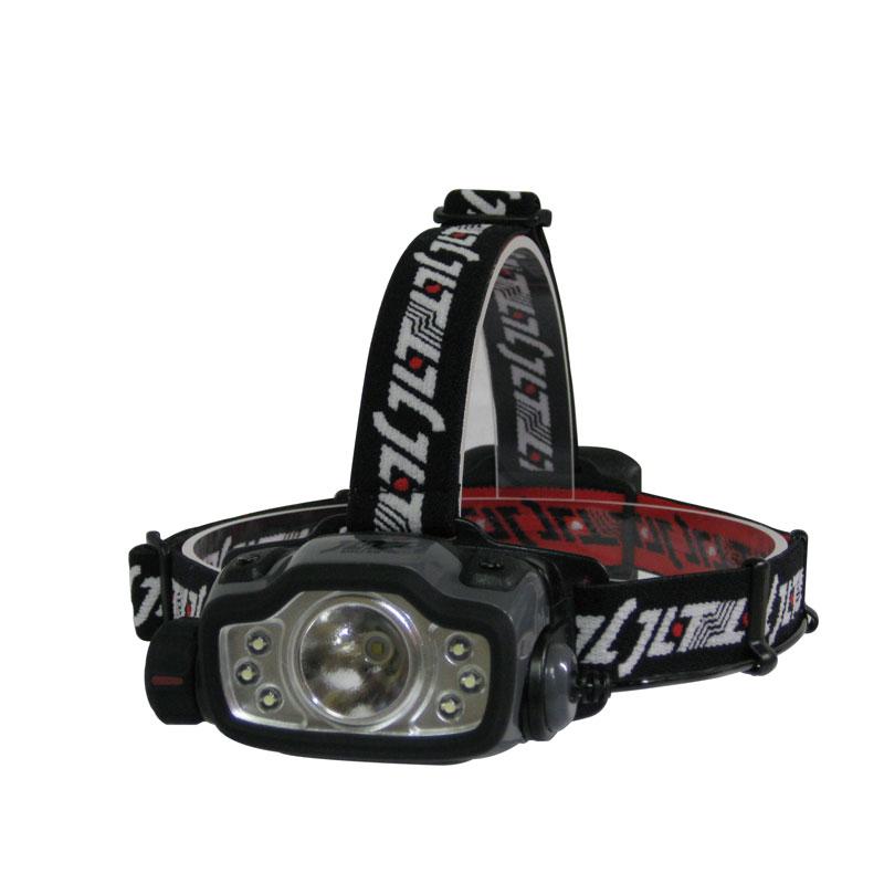 LEDヘッドライト 377−608 ST付 電池式 210lm