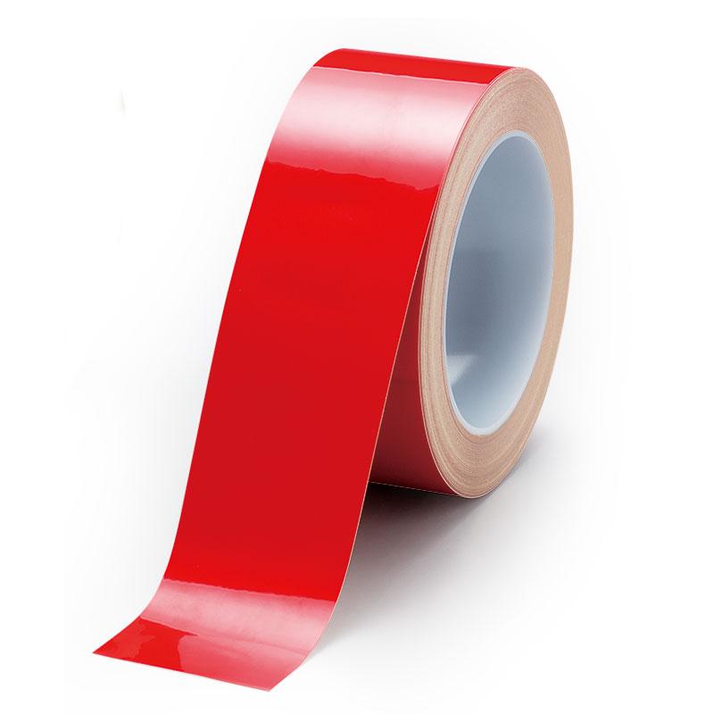 ユニフィットテープ 863−614 赤 50mm幅×20m