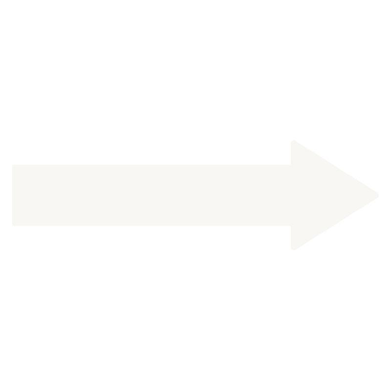 ユニフィット矢印テープ 863−631 白 50mm幅