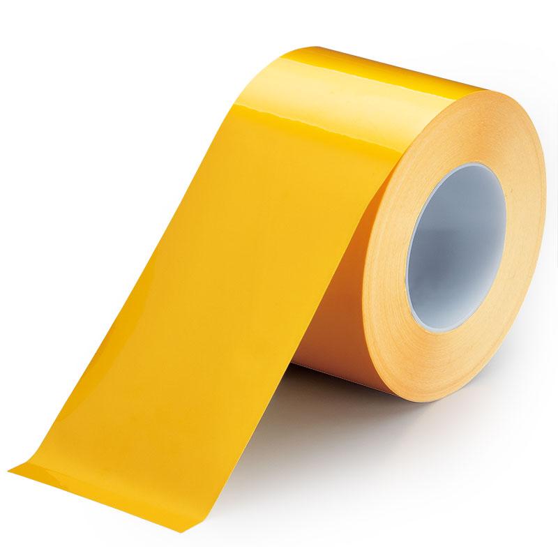 ユニフィットテープ 863−645 黄 100mm幅×10m