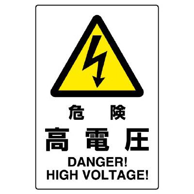 JIS規格標識 802−491A 危険高電圧