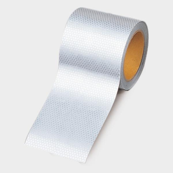 高輝度テープ 374−78 白 90幅×10m
