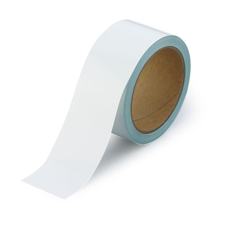 オーバーコートラインテープ 864−78 白 50mm幅×10m