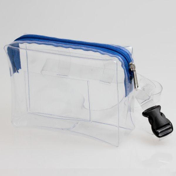 透明ウエストポーチ 無縫製 CWP−A2
