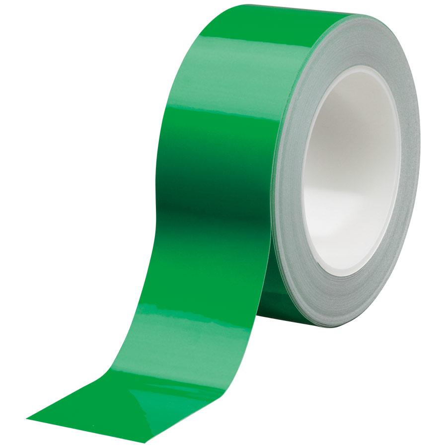 ラインテープ ベルデビバハードテープ(屋内推奨) 緑 50mm幅×20m