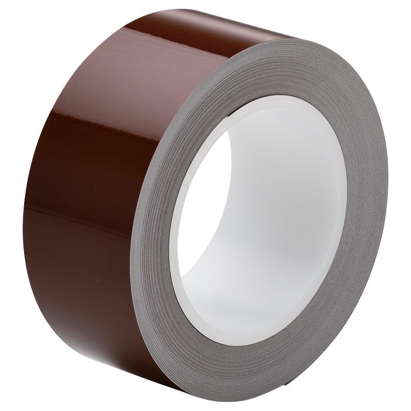 ラインテープ ベルデビバハードテープ(屋内推奨) 茶 50mm幅×20m