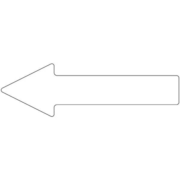 ベルデビバ矢印テープ(屋内推奨) 10枚 (1枚×10シート) 白