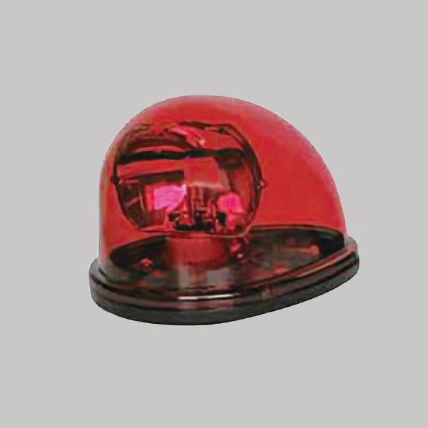 車載用電球式回転灯 赤 NY9256H1R−12V