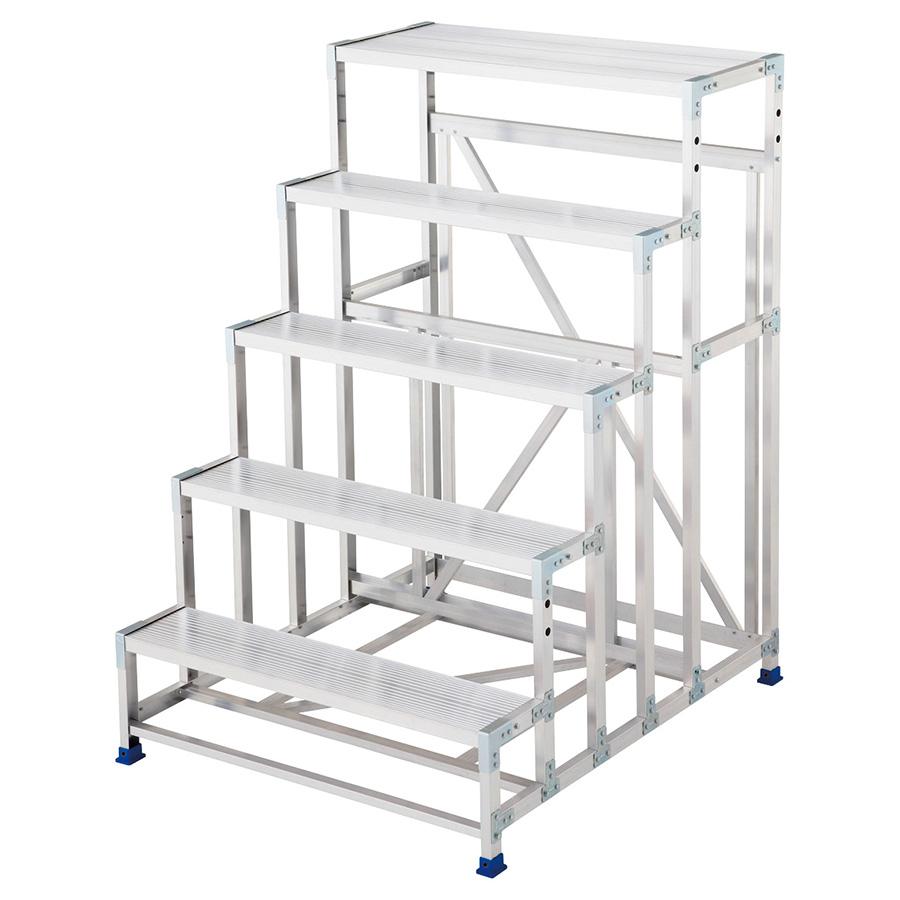階段タイプ作業台 ライトステップ DB2.0−5 高さ150cm