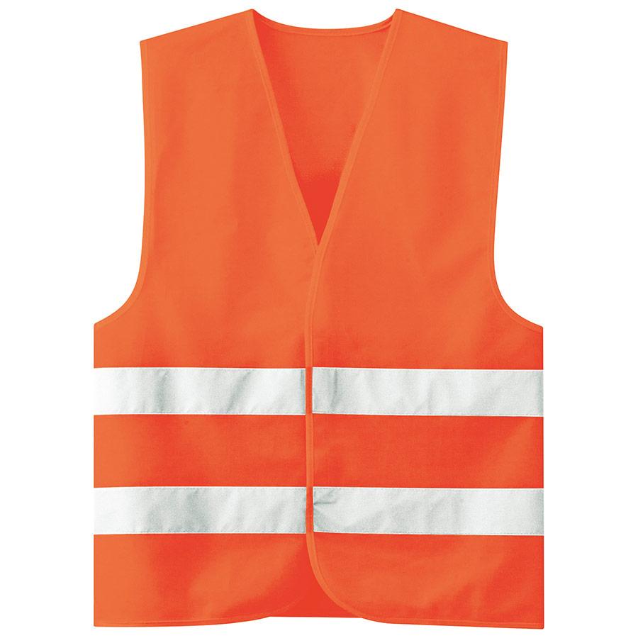高視認グッズ 安全ベスト 蛍光オレンジ
