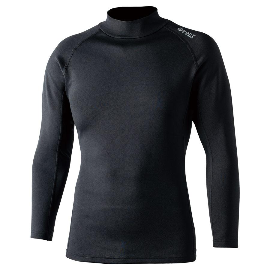 BTヒートブースト ヘビーウェイトハイネックシャツ JW−186 ブラック L