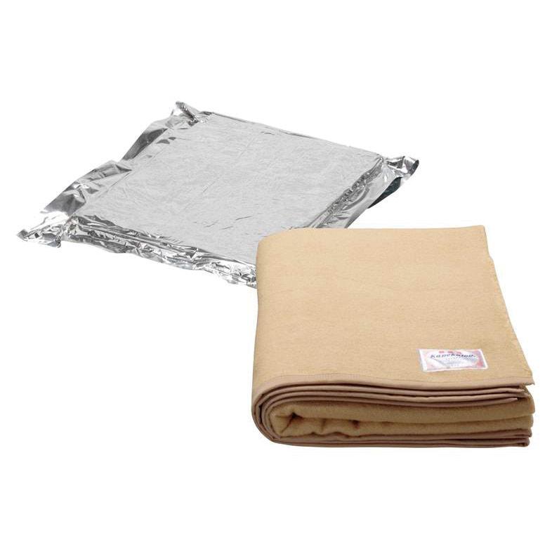 真空パック難燃毛布 カネカロンコンパクト MTHW−KL1 10枚/ケース