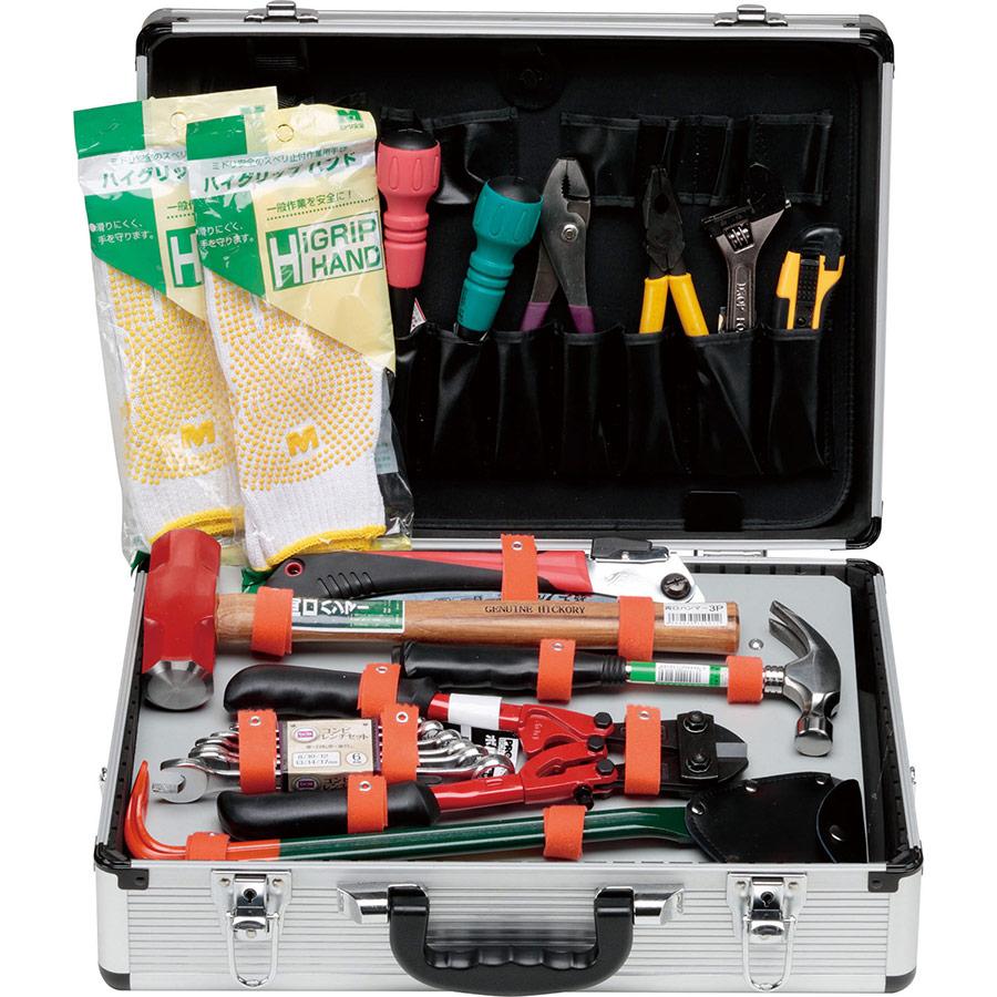 救出活動用工具 アルミ救助工具セット