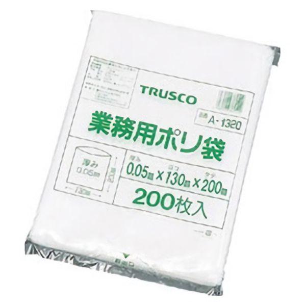 TRUSCO ポリ袋(200枚入)0.05厚 A1320 8539