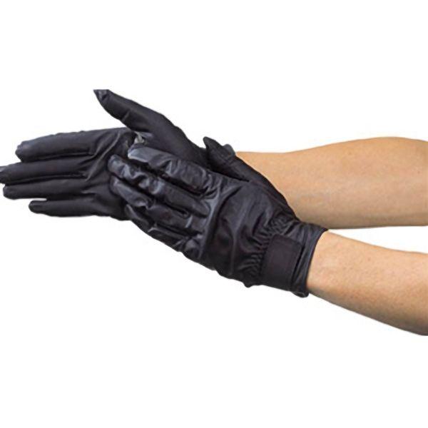 TRUSCO ウェットガード手袋耐水加工革製黒 DPM810 8539BK
