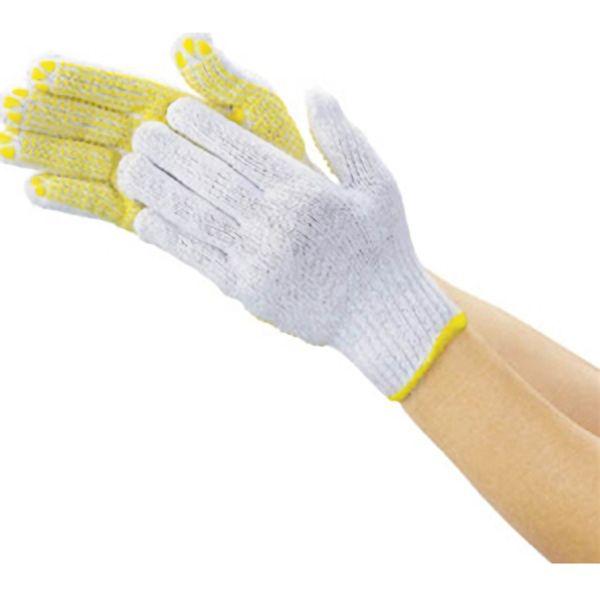 TRUSCO 一般作業用すべり止め手袋厚手・1打組 DPM39E 8539