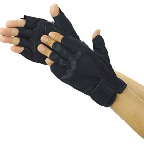 TRUSCO 防振・防滑手袋指無しLL TPG855LL 8539