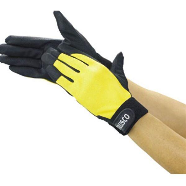 TRUSCO PU手袋厚手イエローLL TPUGYLL 8539