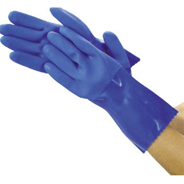 TRUSCO 耐油ビニール手袋ロング LL TGL233LL 8539