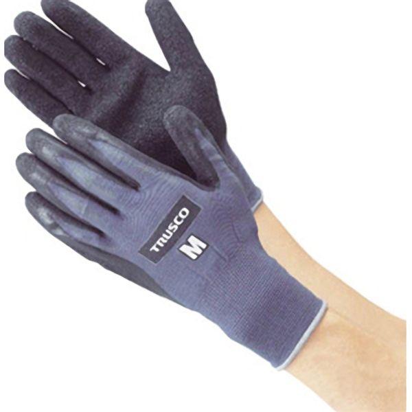 TRUSCO グリップフィット手袋 天然ゴムM TGL250M 8539