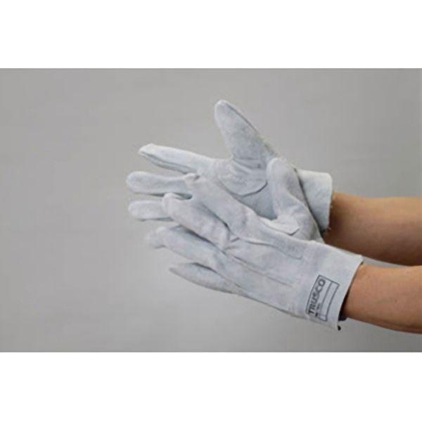TRUSCO 革手袋国産牛床革製 LLサイズ TYKSTLL 8539