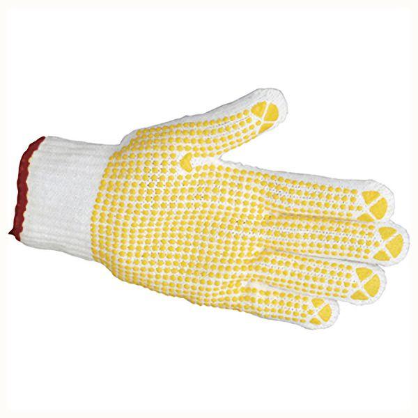 TRUSCO すべり止め手袋(片手)50枚入 Lサイズ 左 TGA8LL 8539