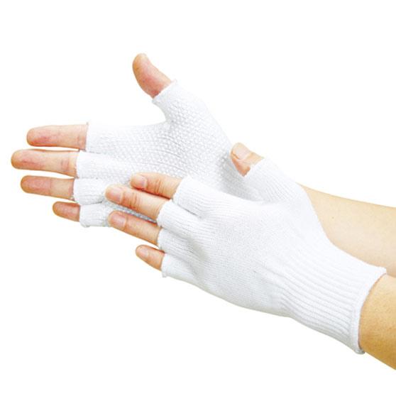 TRUSCO 5本指出しすべり止め付手袋 TGF5 8539