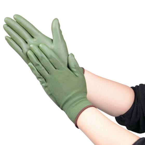 TRUSCO ウレタン薄手手袋 Mサイズ OD色 TUGODM 8539