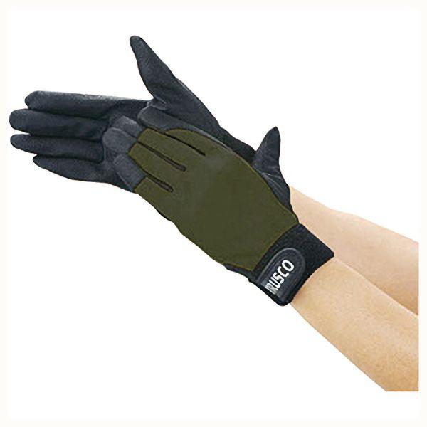 TRUSCO PU厚手手袋エンボス加工 OD L TPUGODL 8539