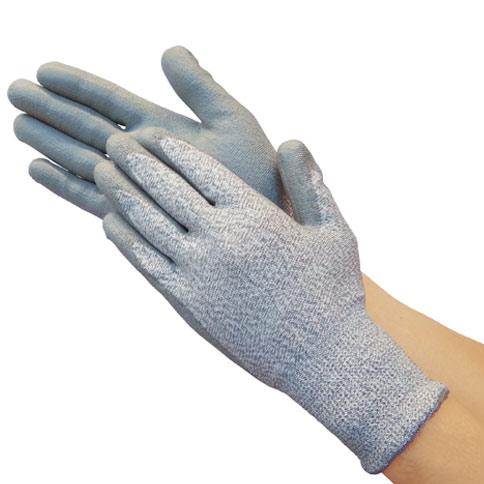 TRUSCO グラスファイバー手袋PU手のひらコート L TGL5232ZL 8539