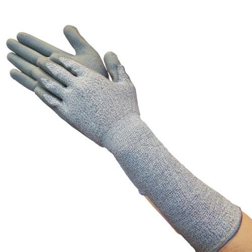 TRUSCO グラスファイバー手袋PU手のひらコートロング S TGL5232ZLS 8539