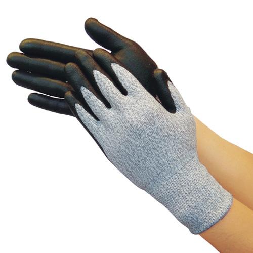 TRUSCO グラスファイバー手袋ニトリル手のひらコート L TGL5295ZL 8539
