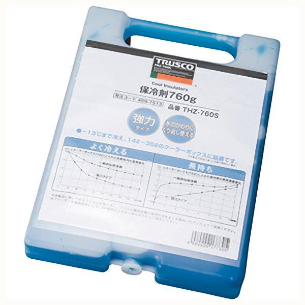 TRUSCO 保冷剤 760g 強冷タイプ THZ760S 8539