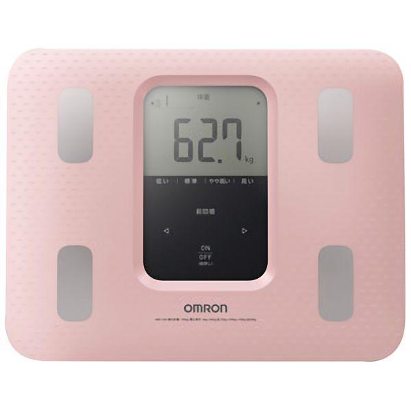 体重体組式計 カラダスキャン HBF−220 ピンク
