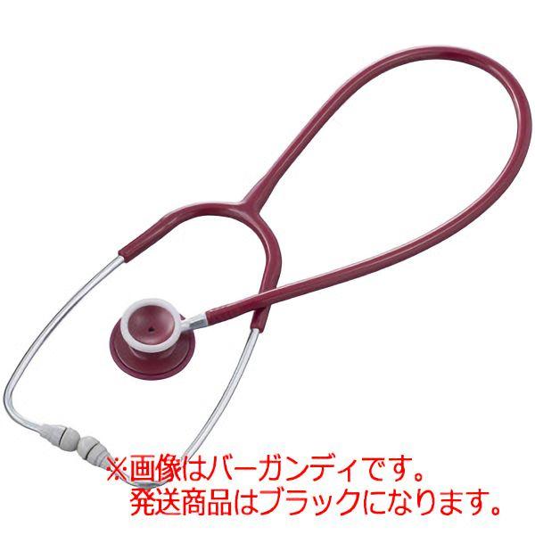 聴診器 ナーシングフォネット ダブル No.126�U ブラック